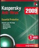 Kaspersky Anti-Virus 2009 subscription Package Antivirus Software