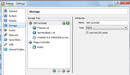 how to make freenas use usb for storage