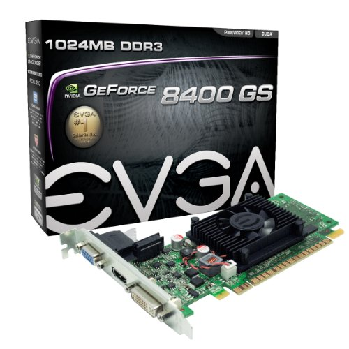 EVGA GeForce 8400 GS 1 GB DDR3 PCI Express 2....
