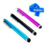 3 Pack of Black Blue Pink Stylus Universal Touch Screen Pen for Ipad 2 Ipod Iphone 4,4S,3g ,3gs, Kindle Fire,Motorola Xoom, Samsung Galaxy Tab 8.9 10.1, Blackberry Playbook HTC Flyer Evo
