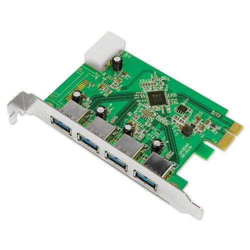 Uspeed Superspeed USB 3.0 PCI-E Card with 4 U...