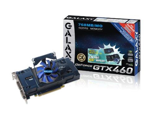 Galaxy GeForce GTX 460 GC 768 MB GDDR5 PCI Ex...