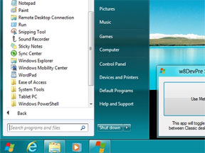 3 Ways To Bring Back The Start Menu For Windows 8