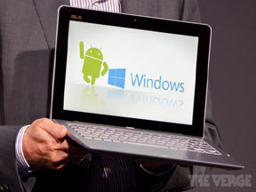 ASUS Transformer Book Trio runs Android and Windows 8