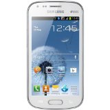 Samsung Galaxy S DUOS S7562 Unlocked GSM Phone with Dual SIM, Android 4.0 OS, 4″ Touchscreen, 5MP Camera + Seconday VGA Camera, Video, GPS, Wi-Fi, Bluetooth, Stereo FM Radio, MP3/MP4 Player and microSD Slot – White