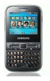 Samsung C3222 Ch@t Dual SIM Unlocked GSM Phone with QWERTY Keypad, 1.3 MP Camera, FM Radio and Bluetooth – No Warranty – Black