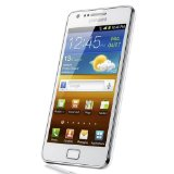 Samsung Galaxy S II SA-I9100 Unlocked Phone with 8 MP Camera and GPS support – International Version – Ceramic White