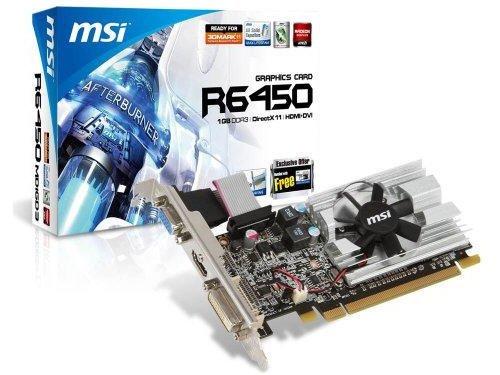 MSI ATI Radeon HD6450 1 GB DDR3 VGA/DVI/HDMI ...