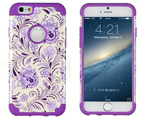 iPhone 6, DandyCase 2in1 Hybrid High Impact H...