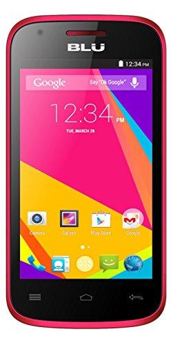 BLU Dash JR 4.0K Android 4.4 Kit Kat 2MP Main...