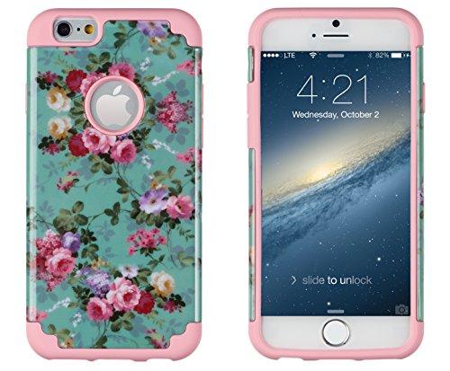 iPhone 6, DandyCase 2in1 Hybrid High Impact H...