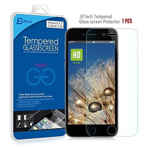 iPhone 6 Screen Protector, JETech® Premium Te...