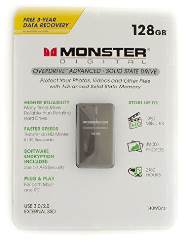 MONSTER OVERDRIVE ADVANCED SSD 128GB