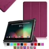"Fintie Slim Shell Case Cover for 7″ Android Tablet inclu. Dragon Touch 7″ Y88X / Y88, A13 Q88, iRulu 7 inch Android Tablet PC, iRulu X1s HD TFT Display 7 Inch, iRulu 4Th Generation Q8 7″ Tablet, Alldaymall 7 inch Tablet, Alldaymall A88X 7″, Osgar Ultrathin 7 inch 16GB Tablet PC, ProntoTec Axius Series 7″ Android 4.2 Tablet PC, ProntoTec 7″ Android 4.4 KitKat Tablet PC, NeuTab N7/ N7 Pro 7″, DigiToys 7 Inch Dual Core Android Tablet PC, Simbans S74 7″, NORIA T2 7″, Chromo Inc 7 Inch Tablet, Noria JR 7″ , DeerBrook 7″A23, Matricom G-Tab Nero CX2, Andteck TouchTab 7"" A23, FONESO Ultrathin 7″ A23, Afunta AF701 7″, Axis A23 7″ (PLEASE check the complete compatible tablet list under Product Description) – Purple"