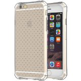 iPhone 6 Case, TruGlue {Drop Protection} Transparent Perfect Fit Bumper TPU Scratch Resistant Case for iPhone 6 4.7 Inch (Clear)