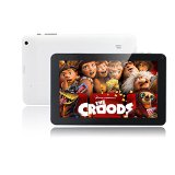 JYJ 9 Inch Android 4.4 Kitkat Tablet PC Capacitive TFT LCD Multi-Point Touch Screen A20 Dual Core 8GB Dual Camera ARM Cortex-A7 HDMI WIFI White