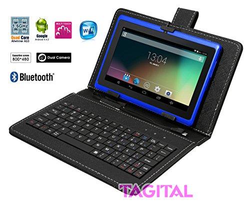 """Tagital® T7X 7"""" Quad Core Android 4.4 Ki..."""
