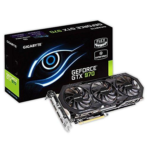Gigabyte GeForce GTX 970 Overclocked GDDR5 Pc...