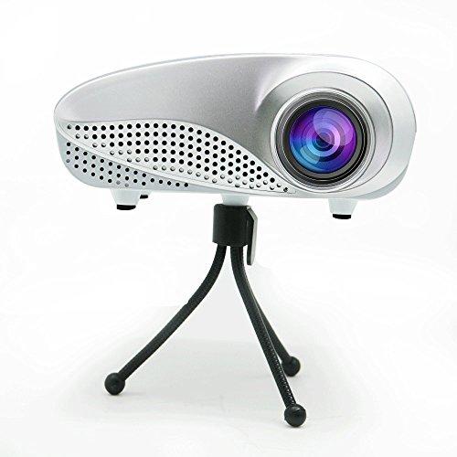 Eug lcd multimedia led mini projector 1080p 3d hdmi full for Led projector ipad