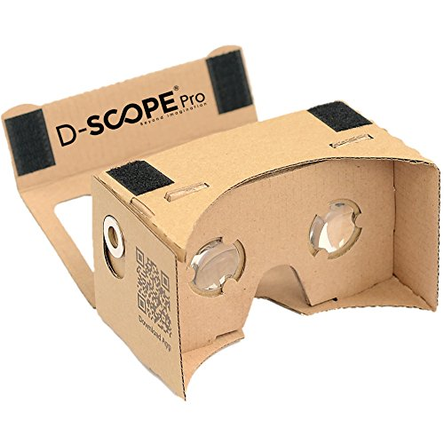 Google Cardboard Kit by D-scope Pro (TM), Sup...
