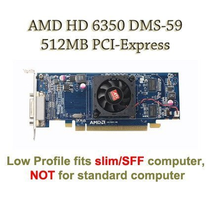 AMD Radeon HD 6350 512MB With Low Profile Bra...