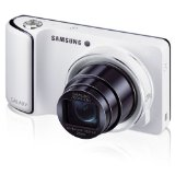 Samsung EK-GC110 Galaxy Camera with Android Jelly Bean v4.1.2 OS, 16.3MP CMOS with 21x Optical Zoom and 4.8″ Touch Screen LCD, WiFi (White) + 8GB SDHC Memory Card