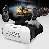 SEGURO® Video Movie Game Virtual Reality 3D Glasses + a bluetooth controller