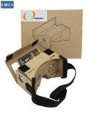 3Csmart DIY 3D Google Cardboard Glasses – Mobile Phone Virtual Reality 3D Glasses, NFC