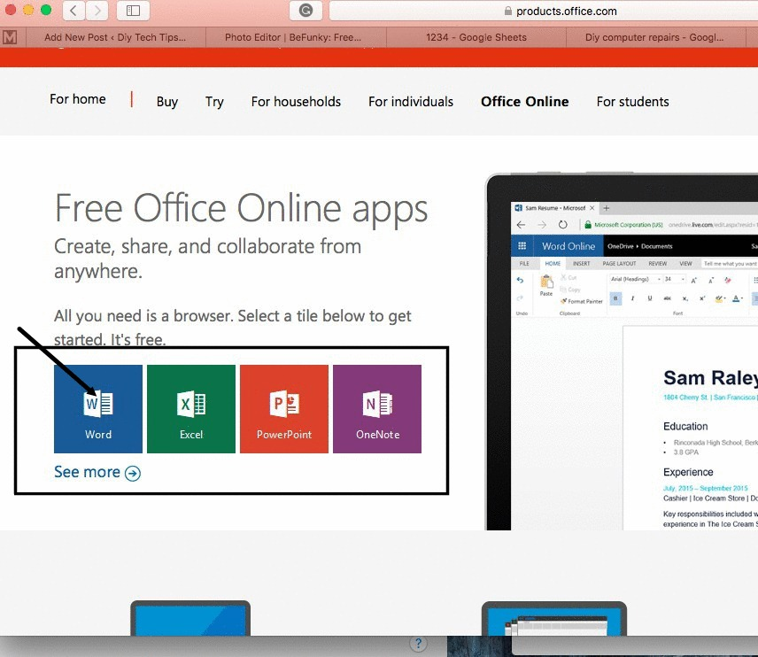 microsoft-office-online