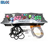 BLEE Pandora's Box 4 Arcade Console 645 in 1 TV Jamma Video Games Kit with 645 Games Joystick Button Power Supply Parts HDMI and VGA Output