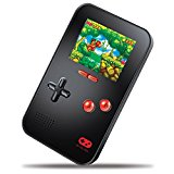 "My Arcade GoGamer Portable Gaming System with 220 HiRes 16 bit Retro Style Games & 2.5"" LCD Screen- Black"